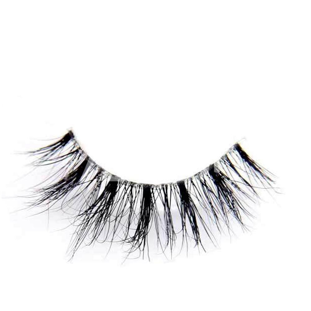 1821a758fd8 Home / False Eyelash / 3D Mink Strip Eyelash / MIUSI Wholesale 3D Mink  Invisible Band Lashes Dramatic Makeup Reusable False Strip Eyelashes ME0002