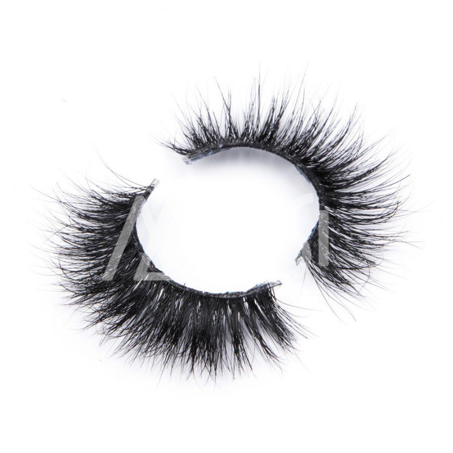 MIUSI Wholesale 3D Invisible Band Mink Lashes Volume Black Long Thick Eyelashes MEC0003