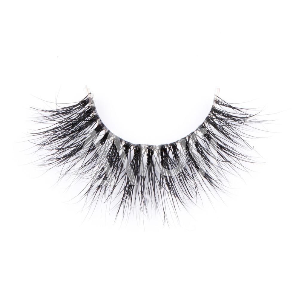 c85fb3d6e56 Home / False Eyelash / 3D Mink Strip Eyelash / MIUSI Wholesale 3D Clear  Band Mink Wispy Styles Lashes Natural Long Cross Handmade Strip Eyelash  MEC0005